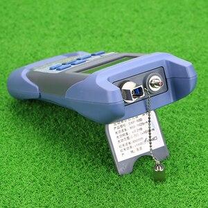 Image 4 - KELUSHI medidor de potencia óptica de fibra FTTH todo en uno 70 A + 10dBm y 1mw 5km probador de Cable de fibra óptica Localizador Visual de fallos