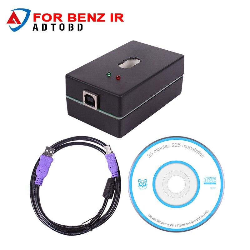 imágenes para 2017 El Más Nuevo para el Benz IR code reader para mercedes mb clave programador clave de lectura de datos clave programador Envío Gratis