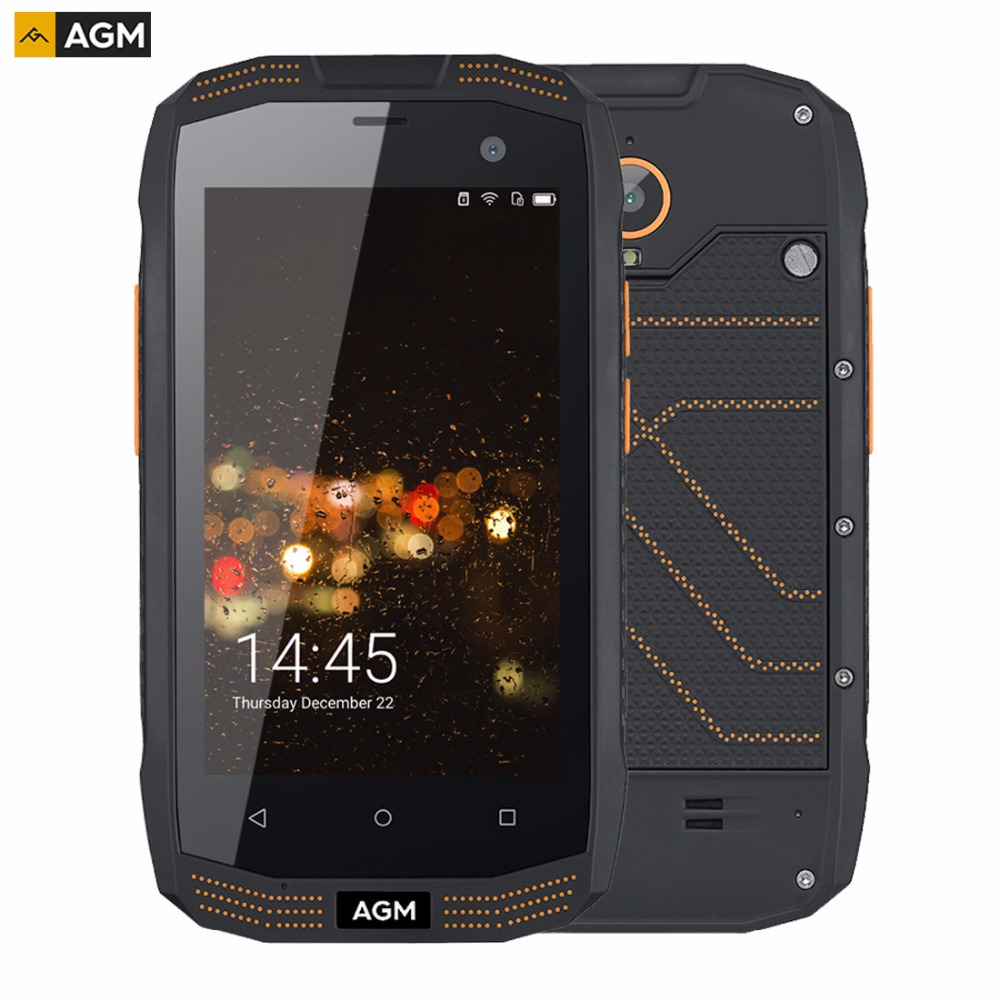 AGM A2 Triple Proofing Phone 2GB+16GB IP68 Waterproof 4.0 inch Android 5.1 Qualcomm MSM8909 Quad Core