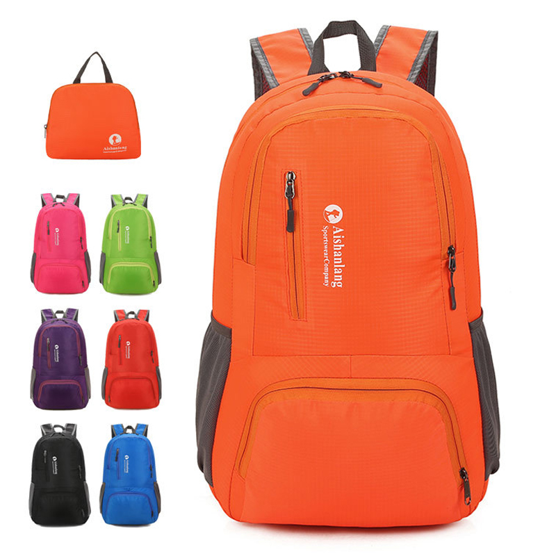 Detail Feedback Questions about Lightweight Nylon Foldable Backpack  Waterproof Travel Backpack Folding Bag Portable Men Women New 2019 Brand  Fashion Back ... bfc1881028cf9