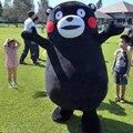 Mascot kumamon oso traje de la mascota de encargo de lujo dress kits de dibujos animados traje de carnaval disfraz