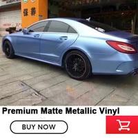 OPLARE Blue mist Metallic Vinyl wrap niebieski samochód owijania folia folia maskująca z pęcherzyk powietrza darmo Wielkość 1.52x/20 m