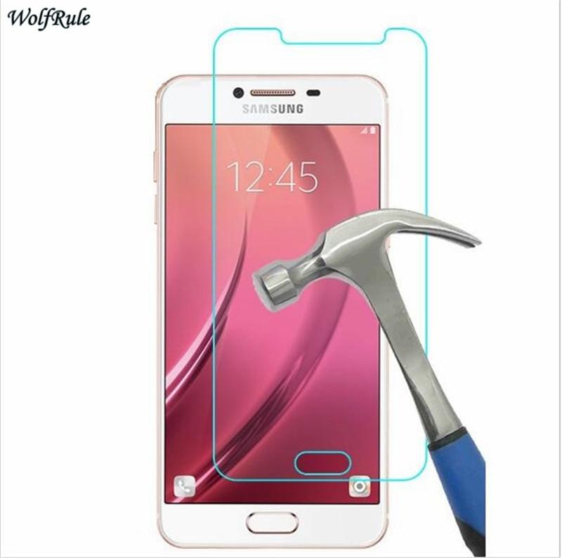 2PCS For Glass Samsung Galaxy C5 Screen Protector Tempered Glass For Samsung Galaxy C5 Glass Protective Phone Film C5000