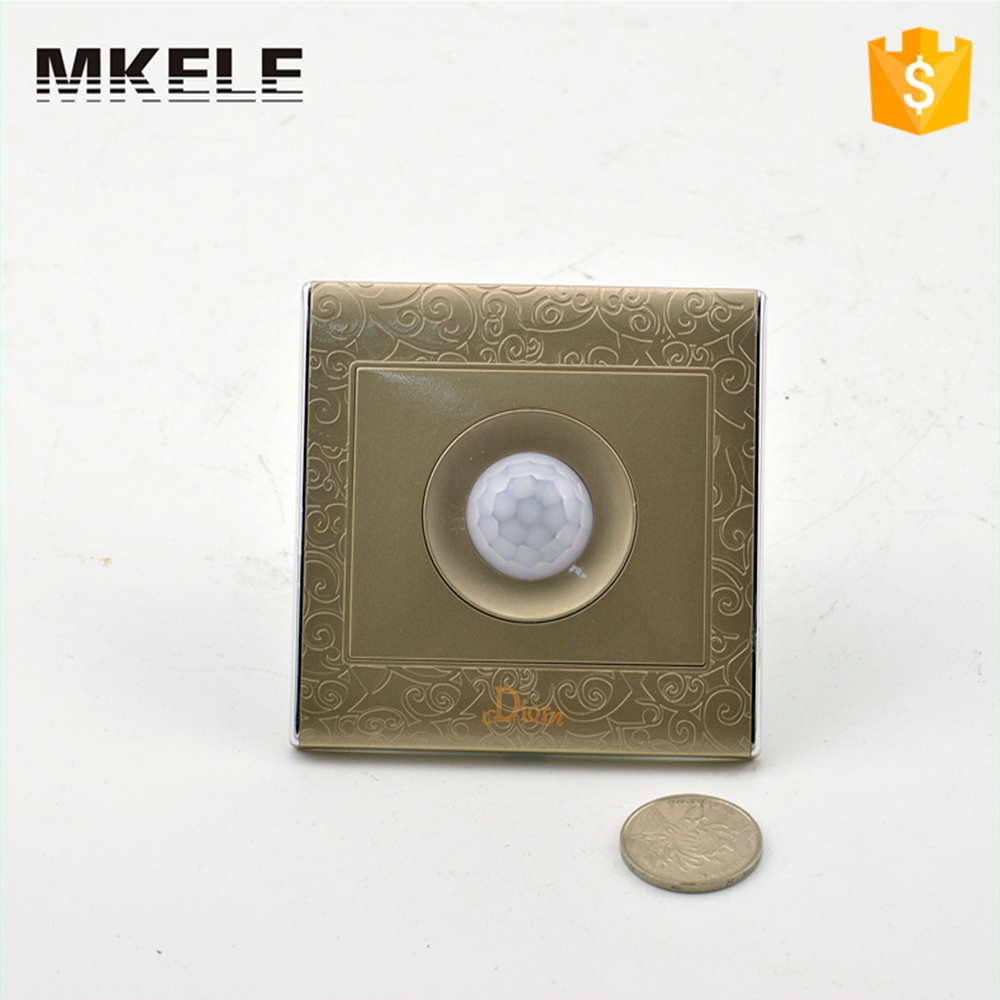 High Quality Makerele Direct Sale MK-WS05BI LED Light PIR Infrared Motion Sensor Human Body Induction Save Energy Automat auto pir led keyhole light genjia human body infrared door lock induction lamp built in 4 led motion sensor light with sticker