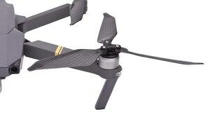 Image 2 - 8 adet 8331 karbon Fiber düşük gürültü pervane DJI Mavic Pro Platinum Drone için 3 Blade sahne kanat değişimi kitleri yedek parça