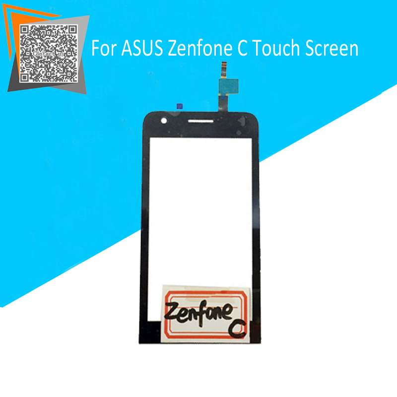 NEW Original 4.5 inch Touch Screen for ASUS Zenfone C ZC451CG Touch Digitizer Sensors Black Replacement Parts