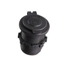 12 V Car Cigarette Lighter Socket Heat Resistance Plastic Car Charger 24 V Car Accessory Power Cigar Lighter Socket