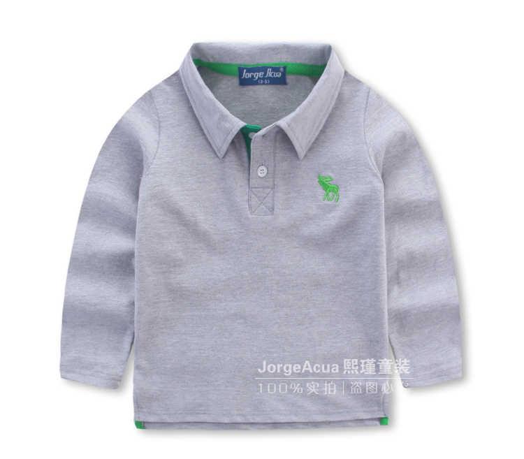2017新しい子供clothing男の子春長袖子供の赤ちゃんレジャー韓国野生ポーリング