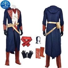 ManLuYunXiao 2017 Cosplay Costume Unity Arno Victor Dorian Roleplay Assassin's Creed Cosplay Men's Jacket Custom Made Adult