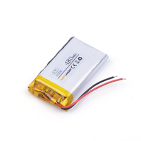 lithium ion rechargable battery 3.7V lithium polymer battery 052545 502545 480mah MP3 MP4 MP5 toy polymer lithium battery