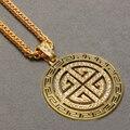 Nuevo 2014 Hip Hop Premium Grade con recubrimiento de aleación con 24 k oro / plata hombres joyería Vintage colgante largo collar de cadena mujeres cuerpo regalo