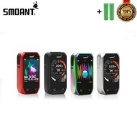 Smoant Naboo Box Mod 225W Powered By Dual 18650 Battery Upgradeable Fit for 510 Thread Vape Tank Vs Voopoo Drag Captain PD1865