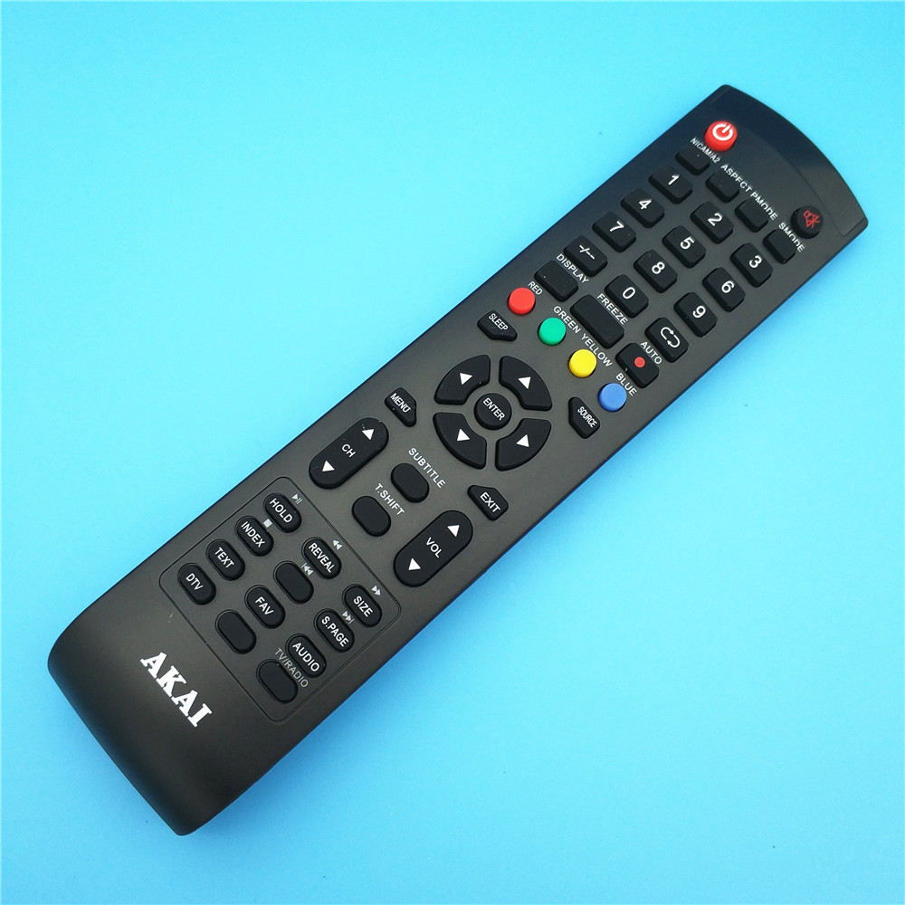 1pcs remote control suitable for AKAI makes sense remote TV remote controller TELEFUNKEN ...