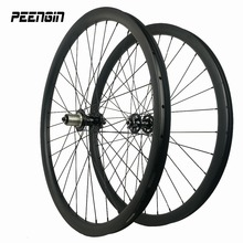 asymmetric mtb carbon wheelset 29er 33X30mm deep race fiets lefty wheel offset rim cheap cycling part can be easy installed tyre