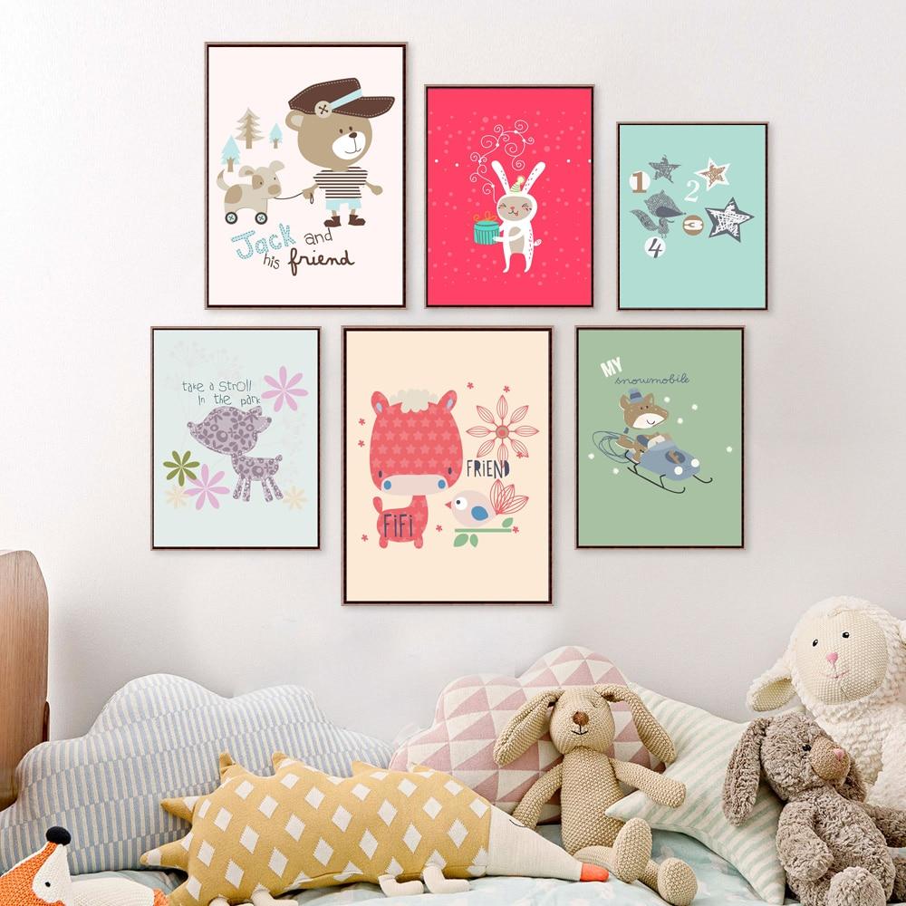 online get cheap baby room posters aliexpress com aliexpress com buy cheap factory sale cartoon animals