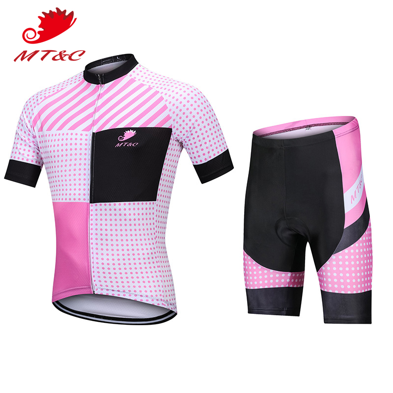 2018 Pink Windproof Women Bicycle 2018 bretelle ciclismo downhill Set Breathable Clothes camisa bicicleta maillot ciclismo ro Sp