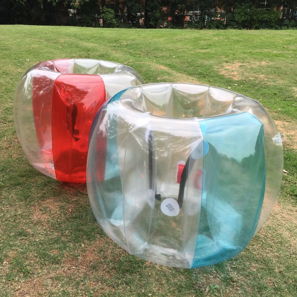 Fun Outdoor Activity PVC Inflatable Bubble Collision Bumper Buffer Ball Training Running Sport Family Game Body Suit Loopy Ball funny fishing game family child interactive fun desktop toy