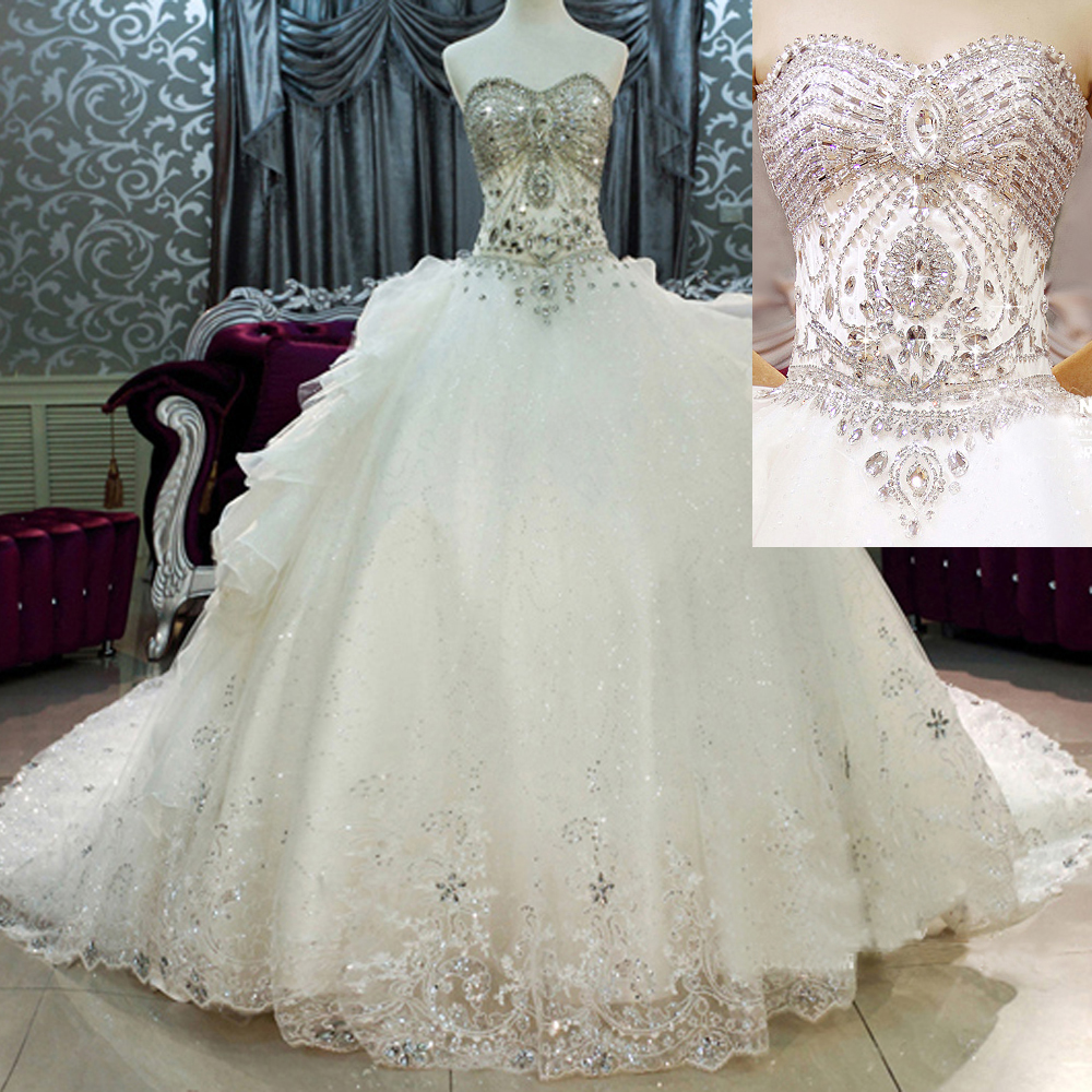 Diamond Ball Gown Wedding Dresses | Weddings Dresses
