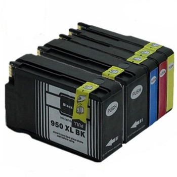 compatible for 950XL for 950 XL BK M Y C 951XL 950XL ink cartridge For Officejet Pro 8600 8610 8615 8620 8630 8625 8660 8680 image