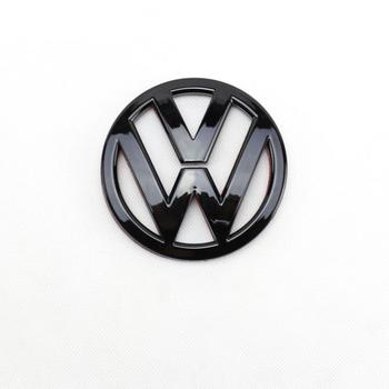 цена на Gloss Black 90mm Rear Trunk Lid Badge Logo Emblem Replacement for VW Volkswagen Scirocco MK3
