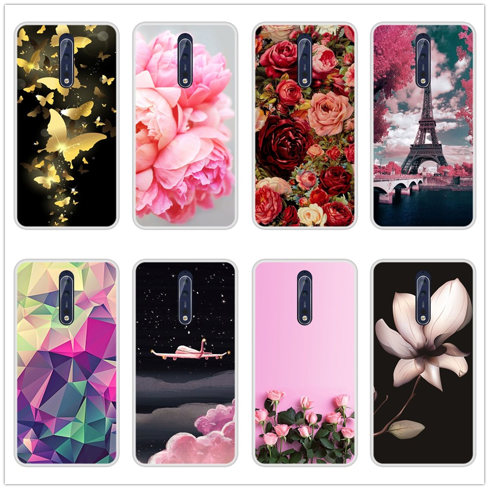 Fashion Printed Phone Case For <font><b>Nokia</b></font> 6.1 <font><b>7.1</b></font> 5.1 3.1 2.1 Case Soft Silicone For <font><b>Nokia</b></font> <font><b>7.1</b></font> 6.1 5.1 3.1 2.1 Plus Back Cover image