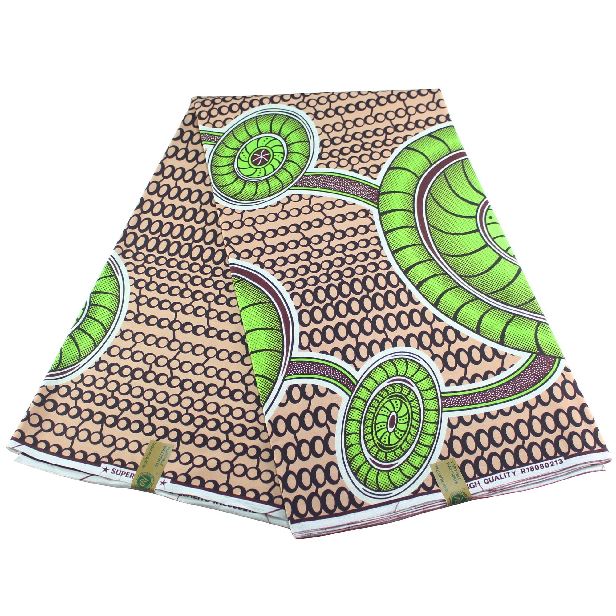 2019 Fashion DIY Veritable Wax Guaranteed Real Dutch Wax Pagne Ankara Sewing Fabric