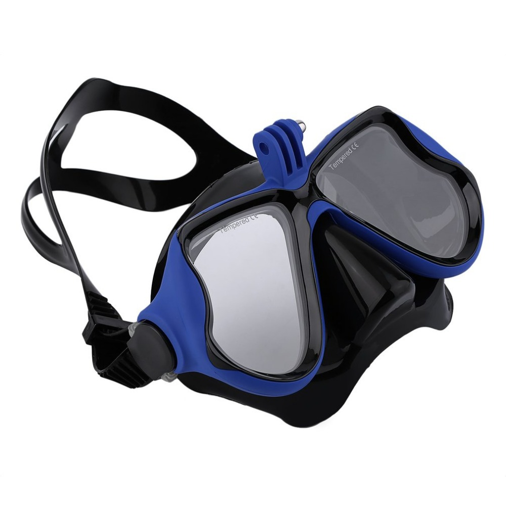 Undervands jagt Kamera Dykning Mask Scuba Snorkel Svømning beskyttelsesbriller til GoPro Xiaomi SJCAM Sports kamera Dykning Mask Brand