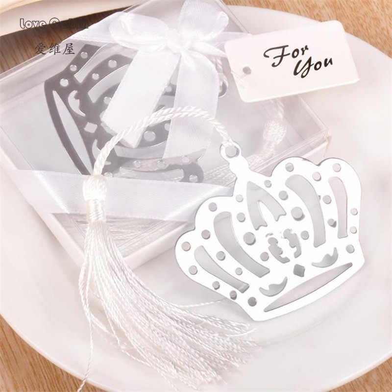 ร้อนมงกุฎดอกไม้T Assels B Ookmarkแต่งงานวันเกิดพิธีสาวเด็กทารกฝักบัวโปรดปรานเด็กสาวอาบน้ำของที่ระลึกพรรคของขวัญ