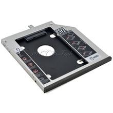Оригинальный Алюминиевый 2-й ЖЕСТКИЙ ДИСК Caddy 9.5 мм 2.5 «SATA III SSD Жесткий Диск Случае Настроены для Lenovo ThinkPad T440P T540P W540