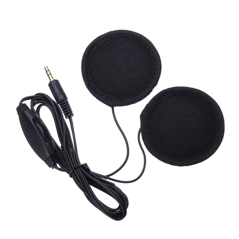 3.5mm Car Styling Motor Headset Speakers Earphone Headphones Volume Control Stereo Motor Headsets for MP3 GPS Smart Phone|Helmet Headsets| |  - title=