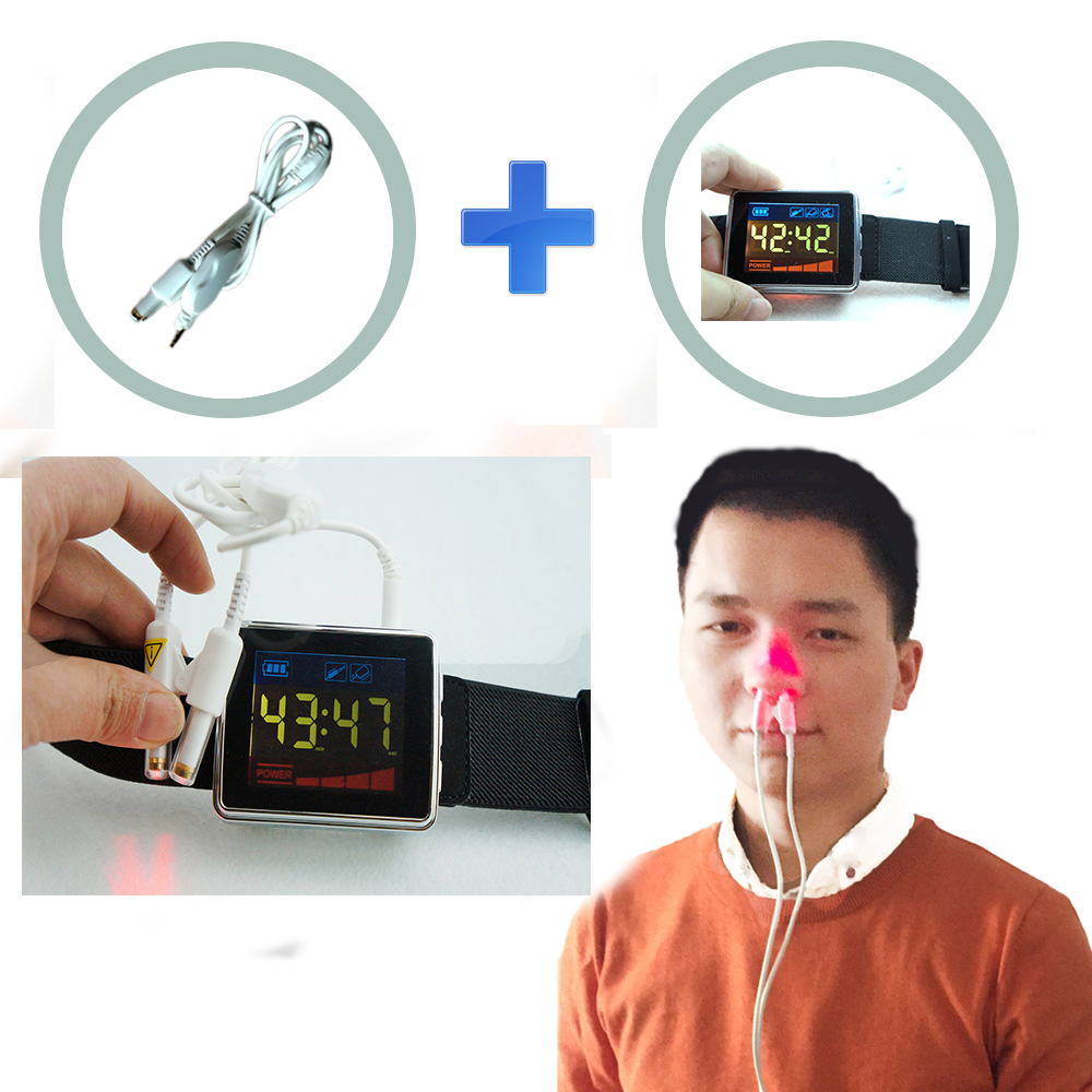 13 Diodes Nasal Low Level Cold Laser Therapy Device Reduce High Blood Pressure latest invention daily home use reducing high blood pressure low level laser therapy watch