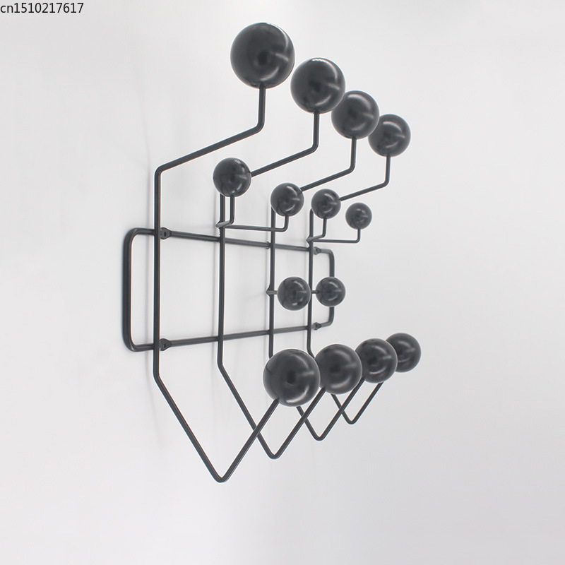 Image 3 - clothes rack key hanger on the wall home organizer over the door home decorationCoat Racks   - AliExpress