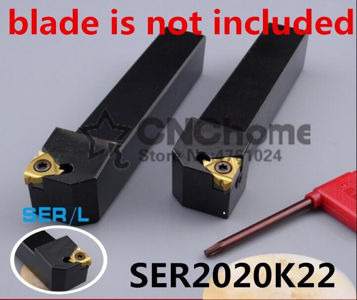 SER2020K22/ SEL2020K22 20*20*125 External Threading Turning Lathe Bar Tools Holder For Lathe Machine