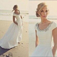 ecaf446199 Buy modern short wedding dresses and get free shipping on AliExpress.com