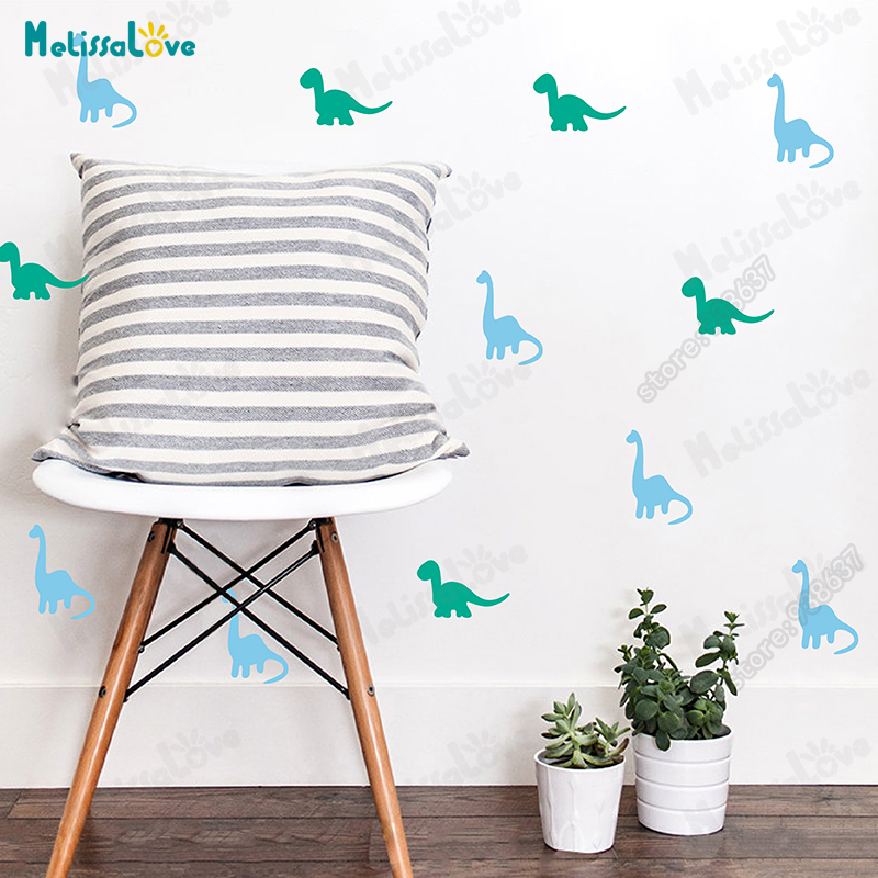 Aliexpress Buy Dinosaur Wall Decals Sticker Boys