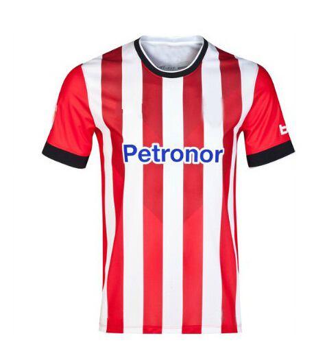 604d85ab65f Free shipping Spanish club Athletic Bilbao 14-15 Thai version home jersey  football kit Soccer Training Free Printed Name Number