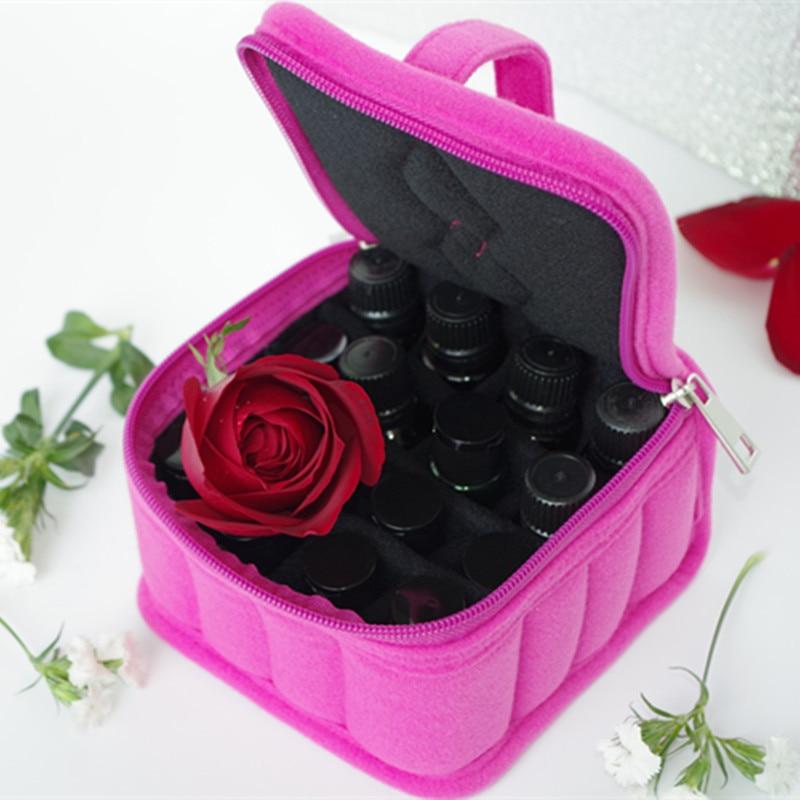 16/30/36 Bottles Essential Oil Carrying Holder Case Perfume Oil Portable Travel Storage Box Nail Polish Organizer Storage Bag