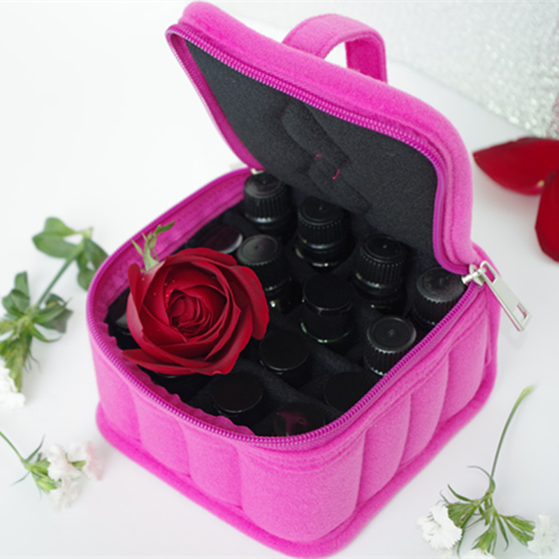 16/30/36 Bottles Essential Oil Carrying Holder Case Perfume Oil Portable Travel Storage Box Nail Polish Organizer Storage Bag