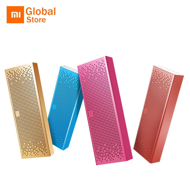 Xiaomi Wireless Portable Stereo Mini SoundBox Square Box loudspeaker for Smartphone