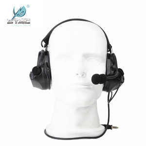 Image 3 - Z Tac Tactical Headset Peltor Comtac II Helmet Aviation Headset Airsoft  Active Headset Military Shooting Headphones Softair