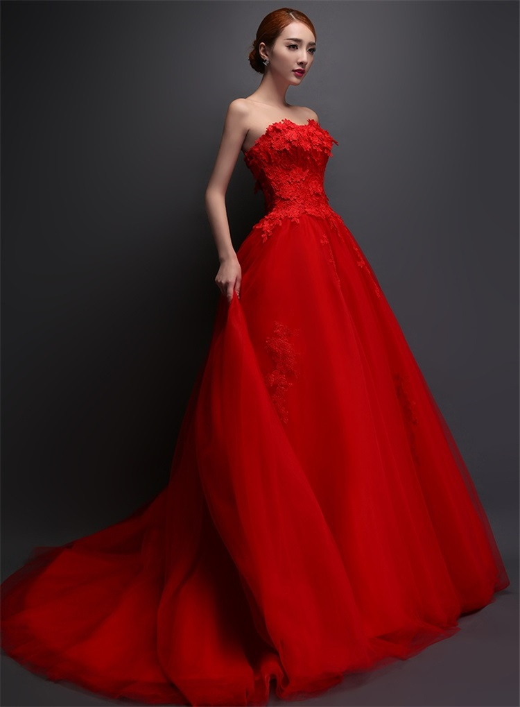 Red Corset Wedding Dresses – fashion dresses