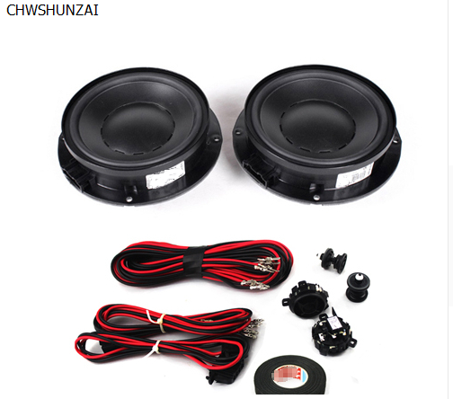 CHESHUNZAI Modified back door rear speaker bass speakers that suit to send a whirlwind card buckle