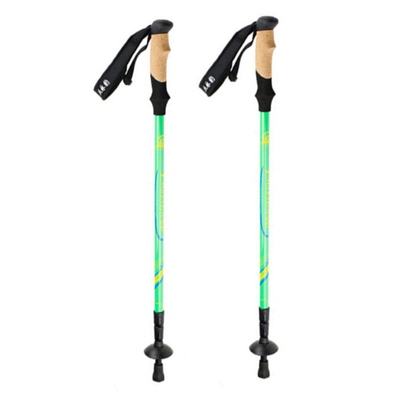 Ultralight Nordic Walking Sticks Fibră de carbon Trekking, Stalpi de drumeție Telescopic Scandinavă Walking Canes Drumeții Echipament