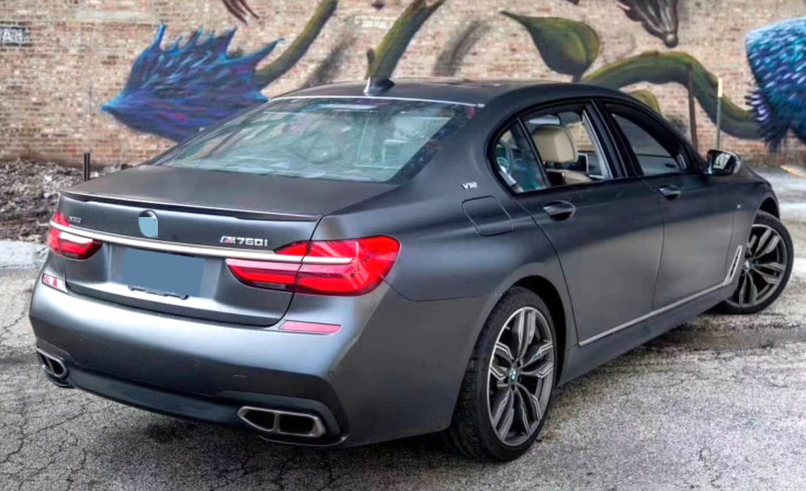 For  BMW G11 G12 7 Series Spoiler  FRP Material rear trunk wing Lip Spoiler  Primer and baking paint color  P style 2018 2019For  BMW G11 G12 7 Series Spoiler  FRP Material rear trunk wing Lip Spoiler  Primer and baking paint color  P style 2018 2019
