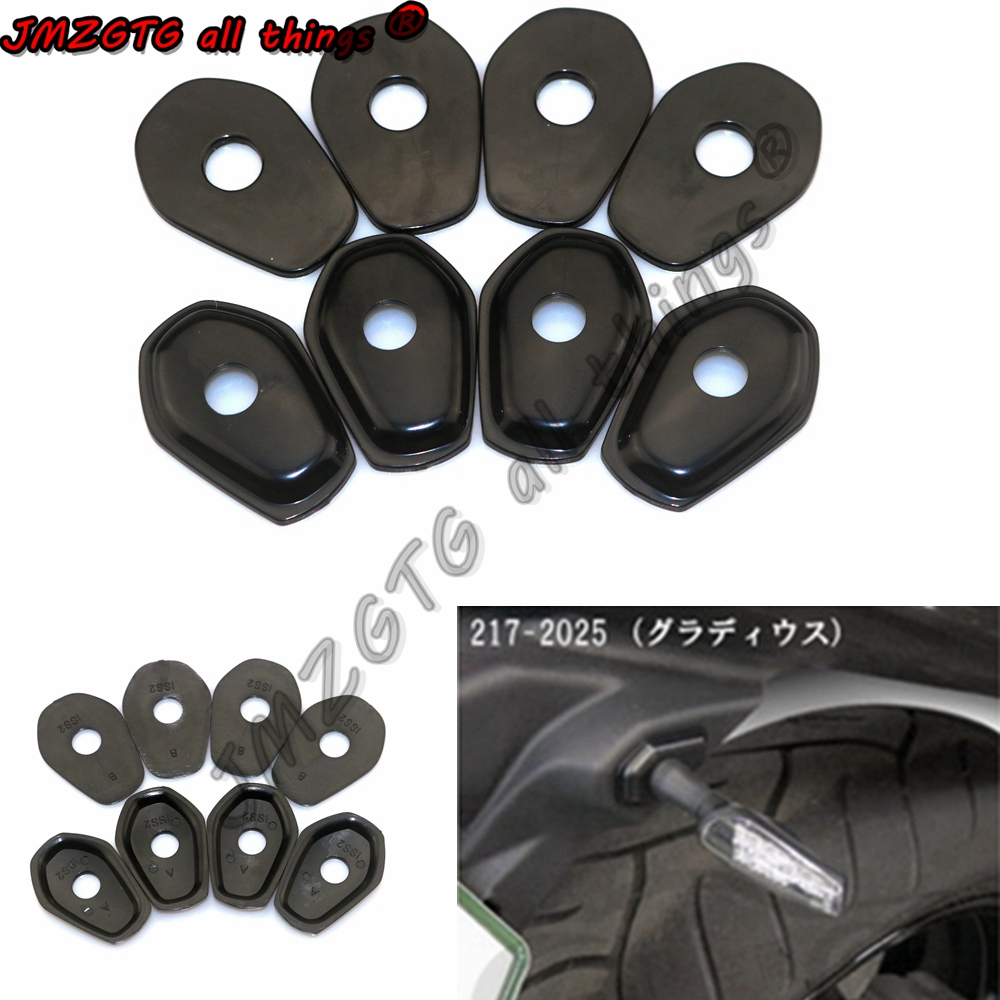 Motorcycle Refit Turn Signals Indicator Adapter Spacers For SUZUKI DL1000 DL650 GSF1250 GSF1200
