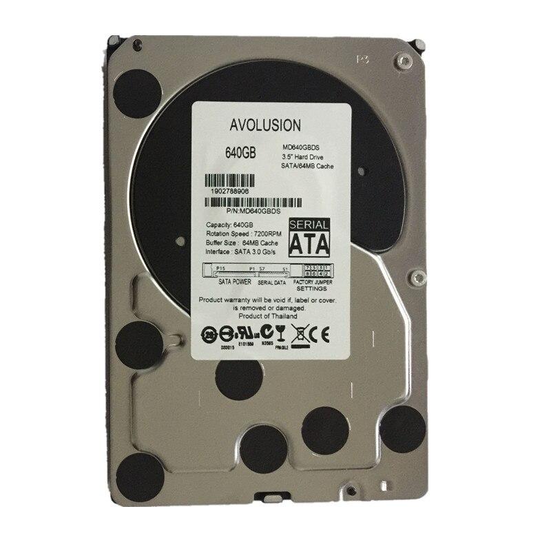 640GB SATA 3.5inch 5400RPM 64MB Cache Garantía de disco duro de CCTV - Componentes informáticos - foto 1