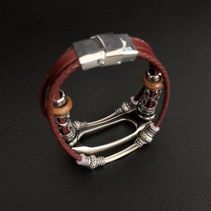 Image 5 - Mi Band 2 Leather Strap for Xiaomi Mi Band 2 Bracelet Screwless Strap MiBand 2 Wristbands Replacement Mi band 2 Wrist Strap