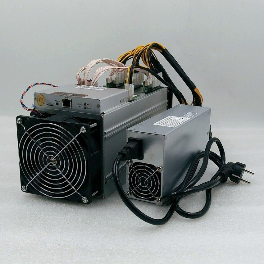 Utilisé BITMAIN Antminer S9 14.5 T asic sha256 16nm Bitcoin miner BTC BCH exploitation minière mieux que S9 14 T T9 S11 T15 S15 yksminer m3 M10