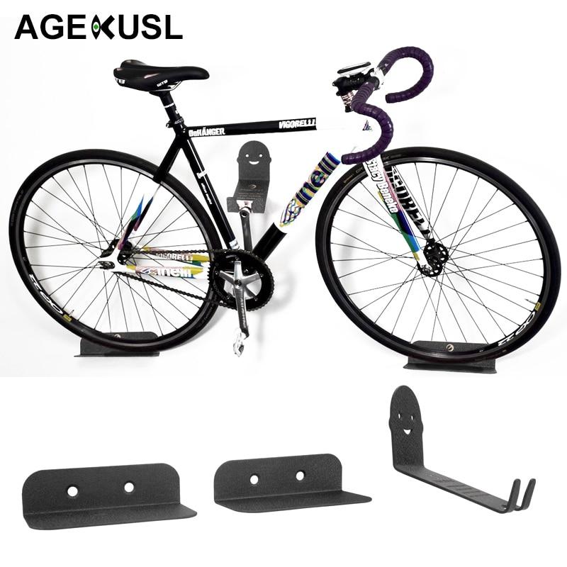 Mottez Wall Bike Storage Plastic Coated Hook Bicycle Stand Holder 16cm