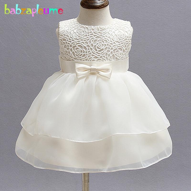 0-24Months/Summer Baby Dresses Infant Princess Little Girls 1 Year Birthday Party Baptism Dress Newborn Christening Gowns BC1098